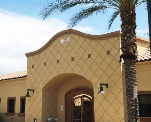 Health Plaza Entrance for Arizona Allergy and Asthma Specialists