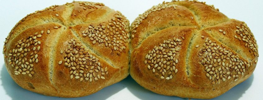 sesame seed bun